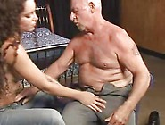 Old Video - Young Girl Old Man