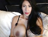 Showing Off Her Giant Boobies On Recorded Cams-Myhotporncams. Com
