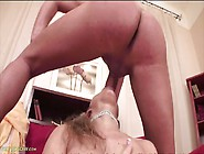 Talented Cock Swallowing Mom Has Great Fake Tits