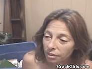 Mature Brunette Crack Whore Taking Facial Cumshot Pov