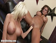 Blonde Milf And Busty Babe Share A Brutal Fisting Moment In Lesb