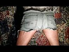 Denim Shorts Shit No. 2   Gay Scat,  Scat Porn
