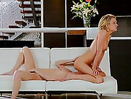 Two Blonde Babes,  Syren Demer And Dahlia Sky Decided To Make Lov