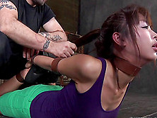 Asian Babe Marica Hase Gagged And Tied During A Torture Session
