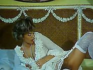 Desirable Lady Wearing A Wig Sucks Two Dicks After Masturbation