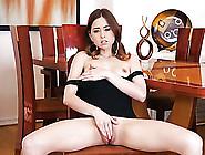 Tight Black Dress On Masturbating Temptress Riley Reid