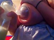 Massive Tities Pumping Milk Marianne From 1Fuckdatecom