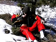 French Sex Boy Tube Roma Smokes In The Snow