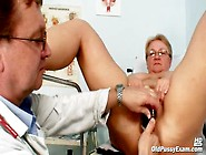 Full Gyno Exam For A Chubby Mature Babe