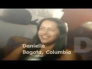 Colombiana Daniela Bailando Y Cogiendo