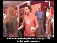 Drunken Sex Orgy With Hot Teen Chicks Dancing And Flashing Panti