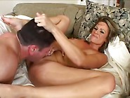 Stacked Milf Sunny Day Performs A Sloppy Deepthroat Gagging