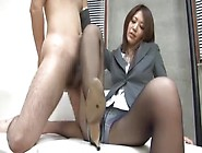 Incredible Japanese Model Riko Miyase In Horny Fetish,  Foot Job/
