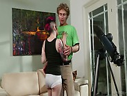 Rizzo Ford Gapes Her Pussy Wide Open To Let The Geek Michael Veg