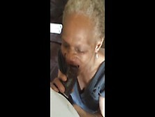 64 Year Old Black Woman Cocksucker Still Swalloing Bbc