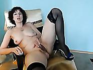 One 48 Yo Milf Fucks Her Pussy Spreading Legs Wide