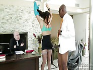 Brunette Milf Wants To Fuck In The Office @ Mom's Cucko