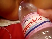 Fucking His Algerian Arab Wife With A Water Bottle