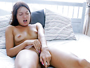 Brown-Haired European Babe Is In Search For An Orgasm During Vib