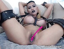 Gothic Girl Big Tits And Tied Up