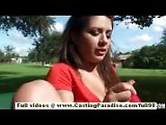 Renna Ryann Amazing Amateur Teen Toying Pussy Using A Vibrator A