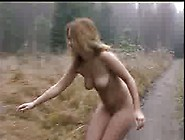 Krista Naked In Woods Clearing