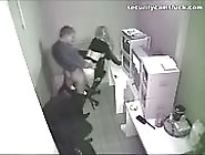 Indecent Coworkers Caught Fucking At The Office