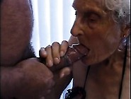 Granny On Wheelchair Sucking On Dick