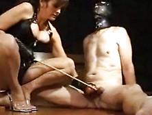 Twisted Femdom Club Torturing Male Slave