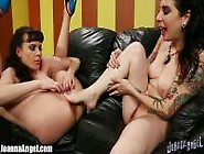 Joanna Angel Foot Fetish Themed Lesbian Sex