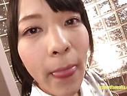 Jav Idol Abe Swallows Multiple Guys Cum Brushes Her Teeth With C