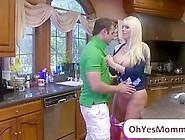 Teen Molly Busts Her Busty Teacher Karen Blowing Her Boyfriend