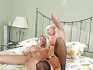 Passionate Blonde Step- Mom With Perfectly Shaved Pussy,  Lolly I