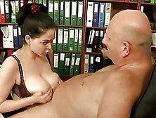 Naughty Shion Cooper Charms Old Hunk With Wild Dutch Fuck