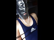 Different Breath Control On My Slave In Singlet