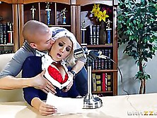 A Horny Client,  Xander Corvus And His Dirty Partner Alix Lovell