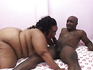 Very Fat Bbbw Eats His Big Stick And Gets Her Slippery Hole Nail