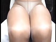 Crossdresser Pantyhose And White Panties 024