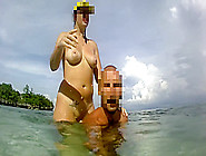 The Walking Nude - Amateur Russian Couple!