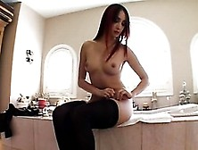 Asian Babe Katsuni Gets Her Butt Drilled By A Black Monster Cock