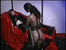 Latex Lesbian Play At Its Finest
