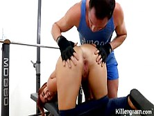 The Plump Yuffie Yulan Fucked By Her Coach In The Gym