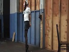 Ballet Boot Standing Bondage Ordeal