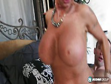 Hot Italian 60-Year-Old's First Video Fuck