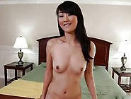 Asian Slut Sucks And Fucks White Cock And Swallows Load