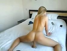 Teen Fucks Herself Near Open Window-Liveslutroulette. Com