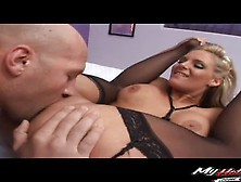 Phoenix Marie Is Flexible And Likes To Spread Her