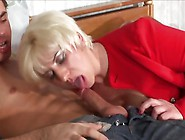 Lusty Milf Fucking Younger Man In Ugly Bed