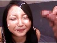 Petite Japanese Girl Bukkake 1-5