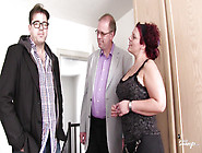 Mmf Threesome With Horny German Redhead - Reife Swinger